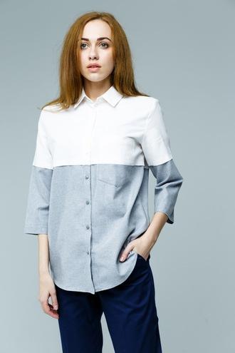 Белая рубашка MASCOT, 925 грн