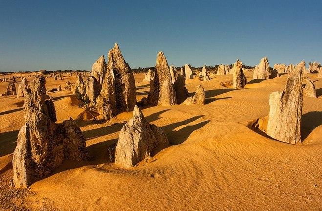 Золоті піски Австралії: пустеля Піннаклс