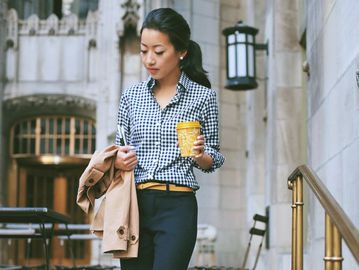 Що одягти в офіс в прохолодну погоду: 9 стильних луків