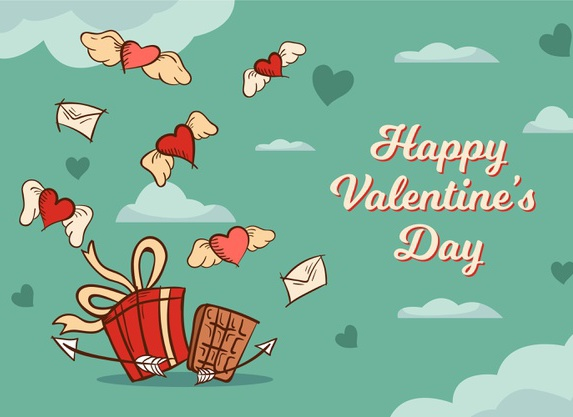 День святого Валентина: поздравления в картинках