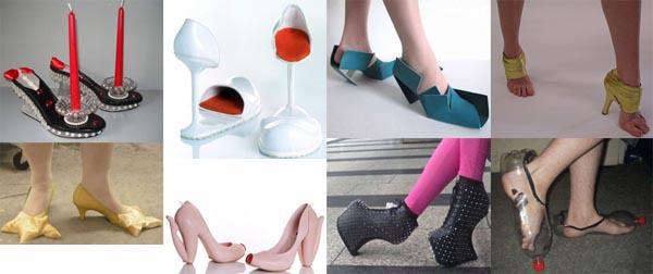 Самая модная обувь человечества. Прикол