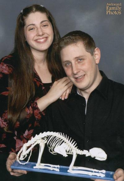 Странные семейные снимки