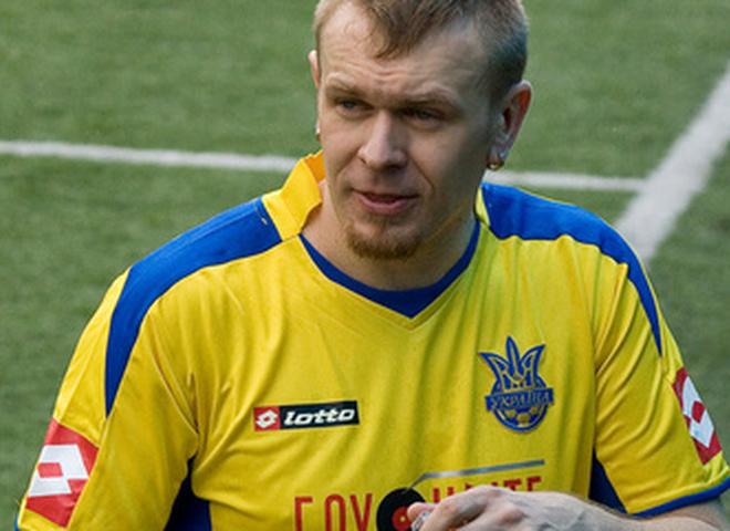 Футбольный матч между сборными украинских и польских звезд