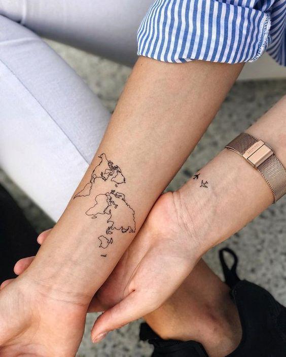 Парні татуювання: ТОП-15 ідей