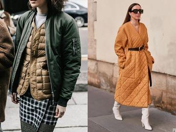 Стеганая одежда – модный тренд на зиму 2020