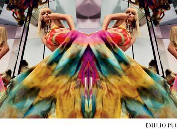 Наташа Полі в рекламній кампанії Emilio Pucci Весна/Літо 2015