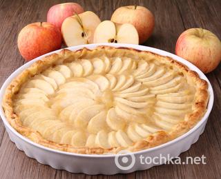 Как приготовить шарлотку с яблоками на кефире
