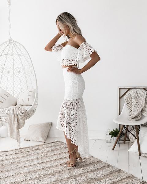 Короткі весільні сукні 2018
