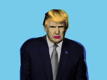 Анти-Трамп помада