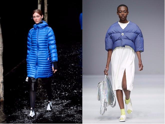 Як і з чим носити пуховик восени в холод