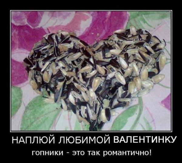 Демотиваторы на день Св. Валентина