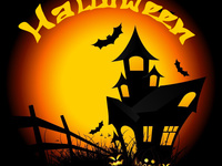 Красивые открытки к Хэллоуину