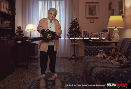 Никогда не знаешь перспективы своей бабули