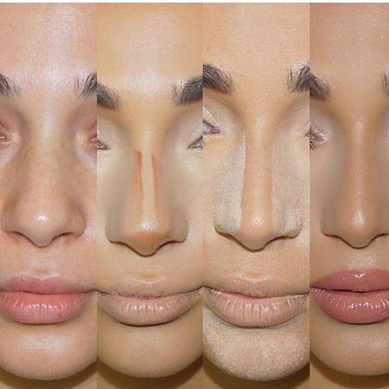 Контурінг носа