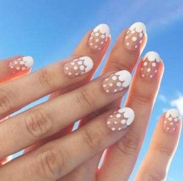 маникюр короткие ногти