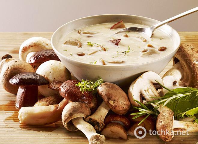 Як приготувати грибний суп, Грибна юшка