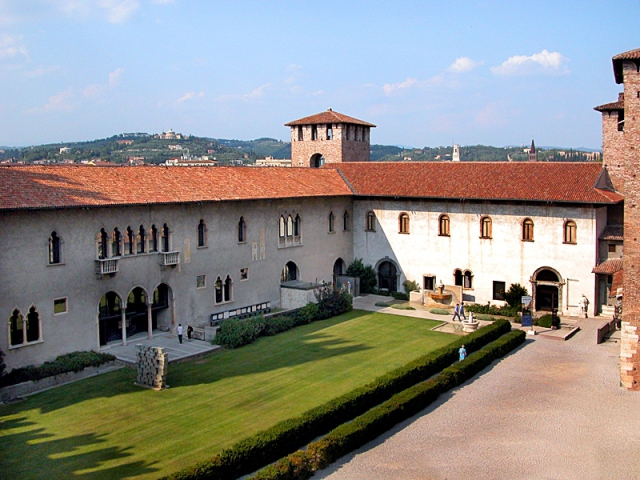 Цікаві місця Верони: музей Кастельвеккьо