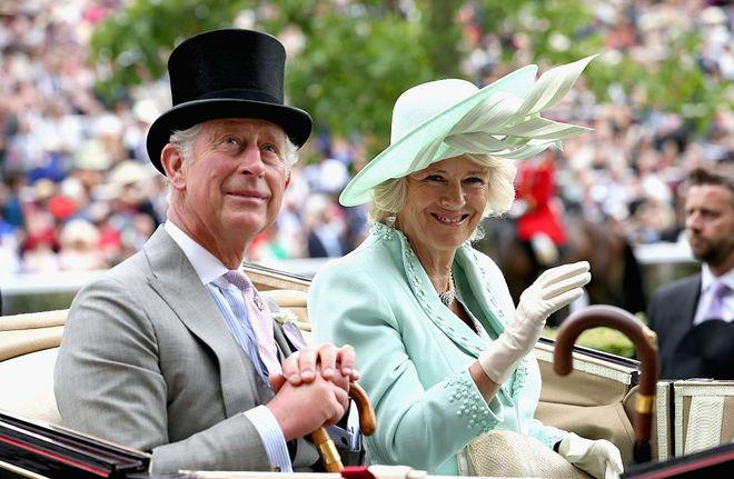 принц Чарльз и Камилла