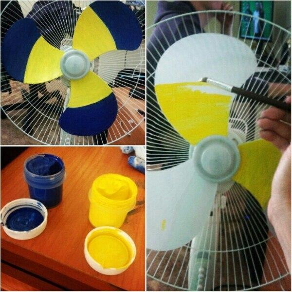 Патриотический вентилятор