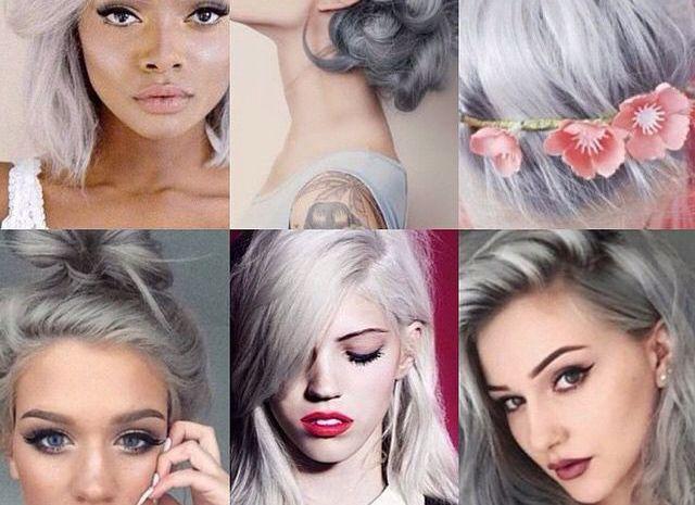 Тренд сезону: сиве волосся