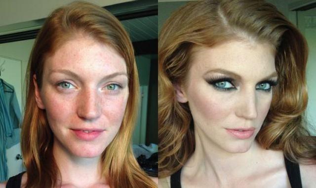 Невероятные перевоплощения с помощью макияжа