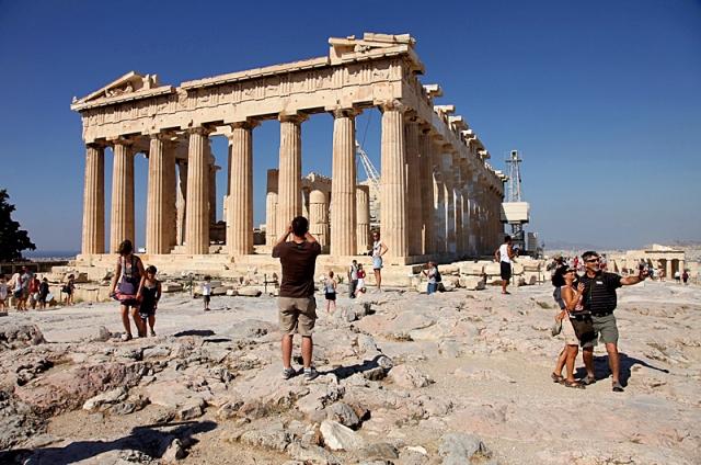 Цікаві місця Афін: Акрополь