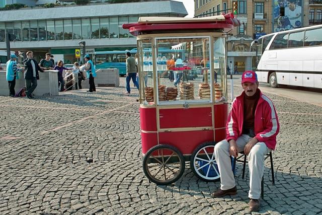Відпочинок в Стамбулі. Вулична їжа