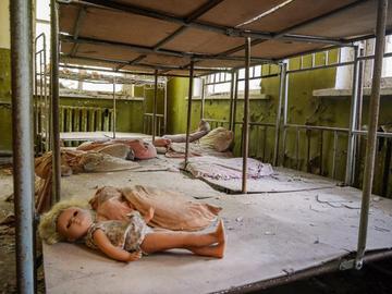 Путешествие в прошлое: Чернобыль на фильтрах Instagram