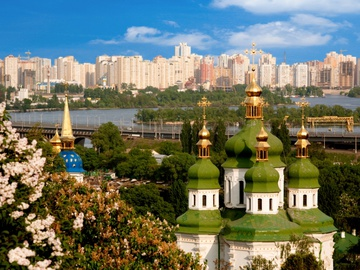 Майские в Киеве