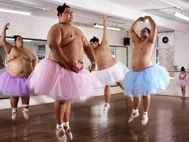 Толстая балерина картинки юмор