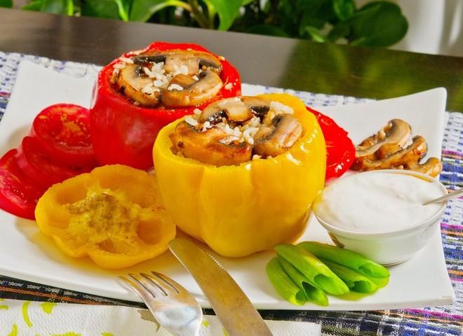 Фаршированный перец - выбирай вкусную начинку