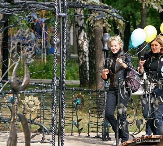 Парк кованих фігур в Донецьку