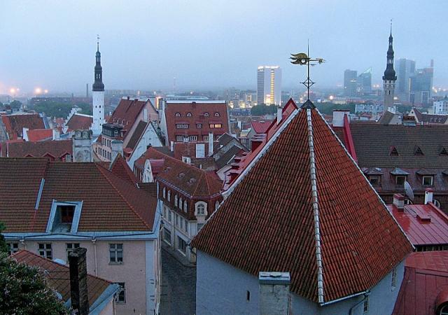 Достопримечательности Таллинна: смотровая площадка Тоомпеа