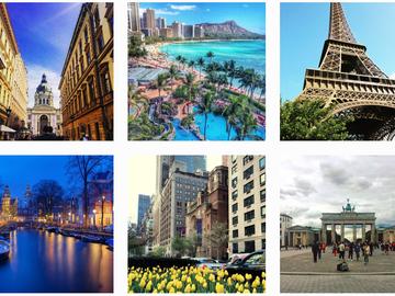 Самые красивые города мира сквозь фильтры Instagram