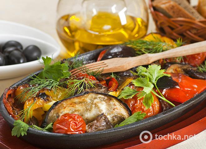 Легкие летние блюда, Овощи на гриле