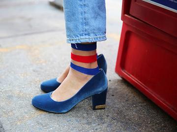 Що носити восени 2016: вельветове взуття