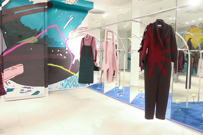 Роботи українських дизайнерів прикрасили вітрини модних бутиків