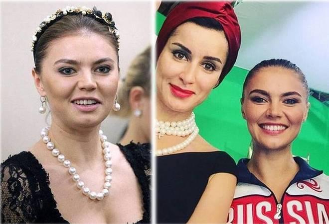 Алина Кабаева и принцесса Диана
