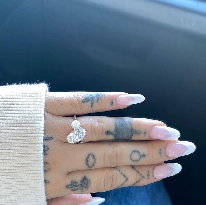 Помолвочное кольцо Арианы Гранде