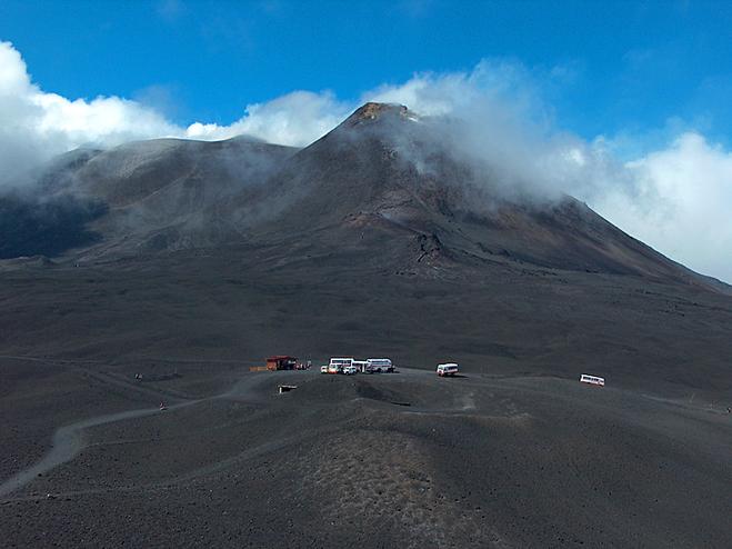 Путешествия к вулканам: Вулкан Этна