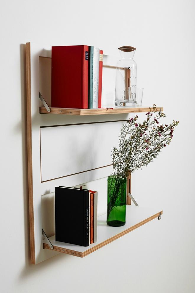 Модульна система полиць Fläpps, дизайн - Ambivalenz