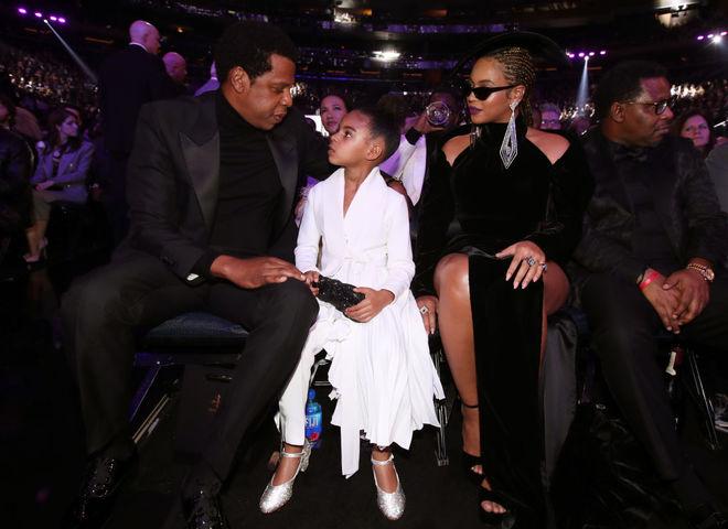 Бейонсе і Джей-Зі з донькою