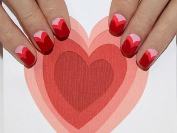Манікюр до Дня святого Валентина