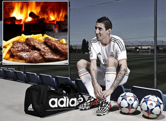 Чемпіонат світу 2014: улюблені страви футболістів