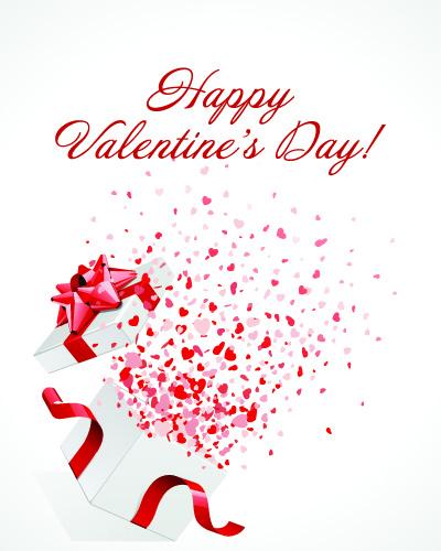 Милая открытка с Днем Святого Валентина 2015