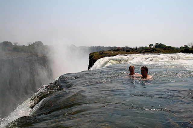 Диявольський басейн, Зімбабве. Африка фото