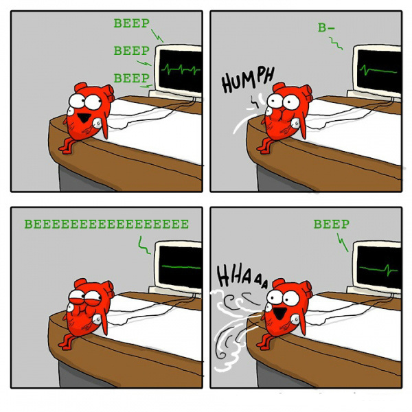 Милые комиксы с органами