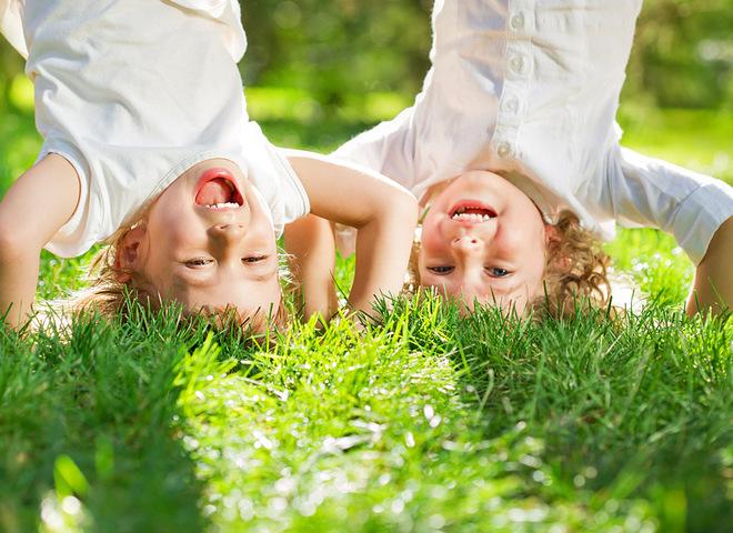 діти на природі