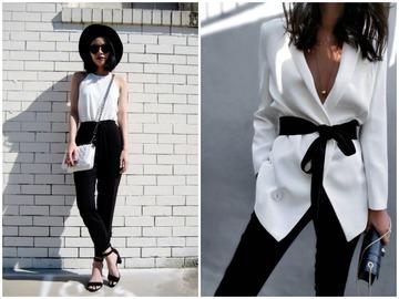 Черно-белые наряды