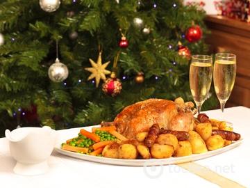 Гарячі страви на новорічний стіл 2015, курка